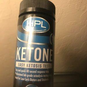 Ketosis Test Strips  (40 Sec. Response Time)